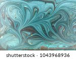 marble abstract acrylic... | Shutterstock . vector #1043968936