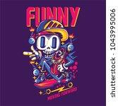 funny move illustration   Shutterstock .eps vector #1043995006