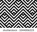 geometric pattern. vector... | Shutterstock .eps vector #1044006223
