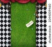 conceptual fantasy background ... | Shutterstock . vector #1044009460