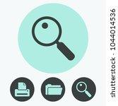 search vector icon | Shutterstock .eps vector #1044014536