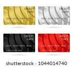 modern credit card  business... | Shutterstock .eps vector #1044014740