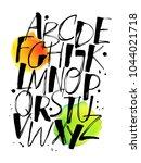 modern calligraphy vector... | Shutterstock .eps vector #1044021718