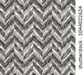 abstract monochrome herringbone ... | Shutterstock .eps vector #1044022624