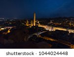 panoramic view of the roofs of... | Shutterstock . vector #1044024448