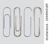 Realistic Paper Clip Set....