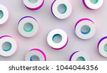 abstract 3d rendering of... | Shutterstock . vector #1044044356