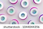 abstract 3d rendering of... | Shutterstock . vector #1044044356