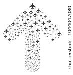 jet plane composition composed...   Shutterstock .eps vector #1044047080