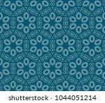 seamless modern vector... | Shutterstock .eps vector #1044051214