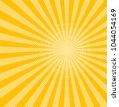 bright sunbeams background with ... | Shutterstock .eps vector #1044054169