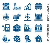 set of energy sources icons.... | Shutterstock .eps vector #1044060253