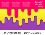 colored modern rounded... | Shutterstock .eps vector #1044061099