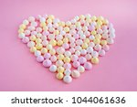 multicolored meringues made in... | Shutterstock . vector #1044061636
