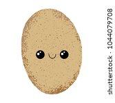 textured vector illustration of ... | Shutterstock .eps vector #1044079708
