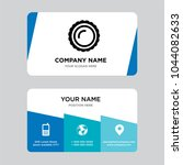 saw round business card design... | Shutterstock .eps vector #1044082633