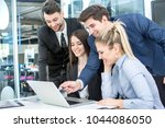 group of business people...   Shutterstock . vector #1044086050