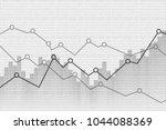 abstract financial graph...   Shutterstock .eps vector #1044088369