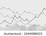 abstract financial graph...   Shutterstock .eps vector #1044088423