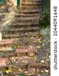 Old Steps. An Abandoned Street...