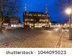 aachen town hall. aachen  north ... | Shutterstock . vector #1044095023