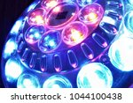 shiny led lights of a... | Shutterstock . vector #1044100438