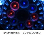 shiny led lights of a... | Shutterstock . vector #1044100450