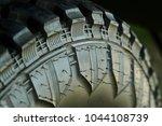 close up. selective focus.... | Shutterstock . vector #1044108739