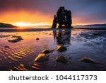 hvitserkur is a spectacular... | Shutterstock . vector #1044117373