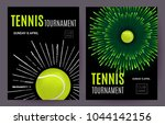 tennis championship or... | Shutterstock .eps vector #1044142156