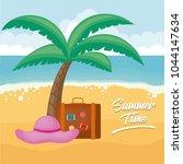 summer time design | Shutterstock .eps vector #1044147634