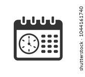 calendar   schedule icon | Shutterstock .eps vector #1044161740