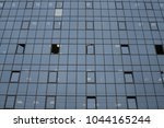 windows of a business building...   Shutterstock . vector #1044165244