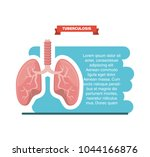 tubereculosis concept design | Shutterstock .eps vector #1044166876