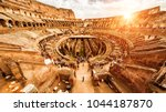 rome   october 1  2012  inside... | Shutterstock . vector #1044187870