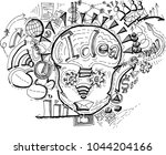vector technology to make... | Shutterstock .eps vector #1044204166