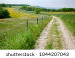south downs way  a  long... | Shutterstock . vector #1044207043