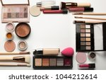 set of professional eyeshadow... | Shutterstock . vector #1044212614