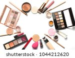 flat lay of professional... | Shutterstock . vector #1044212620