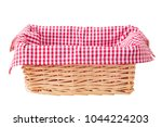 picnic basket isolated | Shutterstock . vector #1044224203