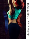 Small photo of luminous neon lines accent the waist