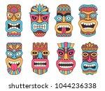 Hawaiian Mask Of Tiki God....