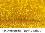 golden beautiful blurred bokeh... | Shutterstock . vector #1044242830