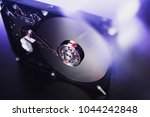 disassembled hard drive from... | Shutterstock . vector #1044242848