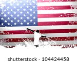 javelin throw background with... | Shutterstock . vector #104424458