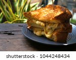 grilled cheese sandwich | Shutterstock . vector #1044248434