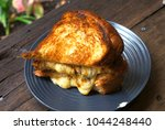 grilled cheese sandwich | Shutterstock . vector #1044248440