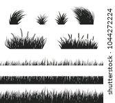 black and white horizontal... | Shutterstock .eps vector #1044272224