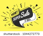 super sale  weekend special... | Shutterstock .eps vector #1044272773