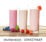 trio of delicious berry... | Shutterstock . vector #1044274669